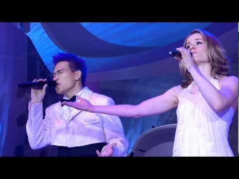 Corinna 陳明恩 singing 來夜方長 with William So 蘇永康 @ So 08 Live