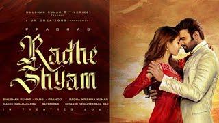 Prabhas20 First Look Radhe Shyam Movie   Prabhas   AA Films