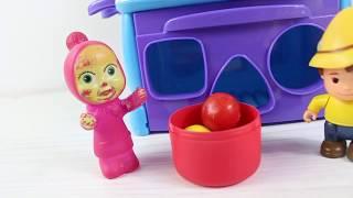 Masha Peter Şeker Oyunu Oynuyor