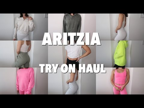 TRY ON HAUL...i'm Obsessed With Aritzia