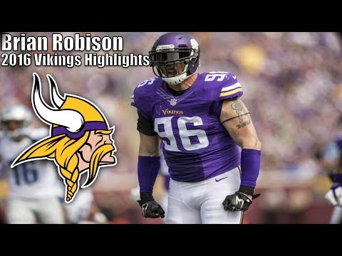 Brian Robison 2016 Vikings Highlights