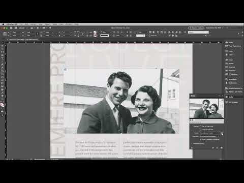 Adobe InDesign | Interactive PDF - Embedding Video