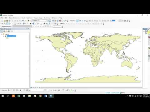 GIS Videos - Cartograms in Arcgis