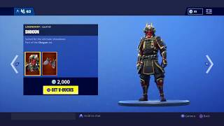 *New* How To Get The Shogun Skin For FREE (Fortnite battle Royale)