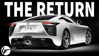 Lexus is REVIVING the LFA?! Here's EVERYTHING we know...