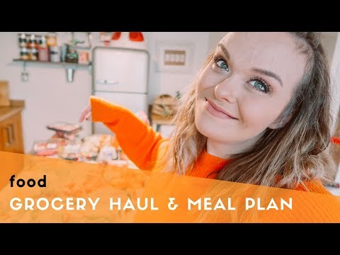 TESCO GROCERY HAUL & MEAL PLAN - HALF-TERM FOOD - FAMILY OF 5