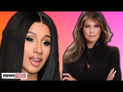 Cardi B Calls Out Melania Trump For Selling 'WAP' After Republicans Attack!