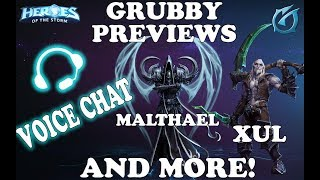 Grubby   Heroes of the Storm - Patch Notes Preview  - February - 2018 - Voice Chat PogChamp!