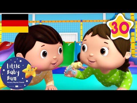 Zehn Kleine Babys - Spielplatz | Kinderlieder | Little Baby Bum Deutsch | Cartoon Für Kinder