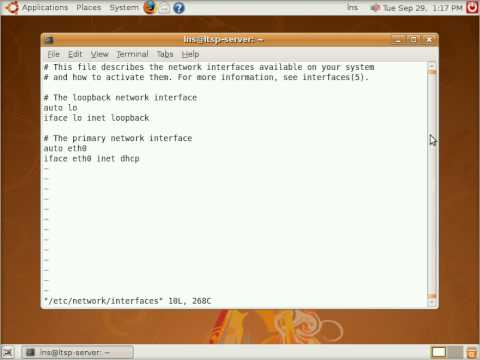 HOWTO: Manually configure network interfaces in Ubuntu Linux