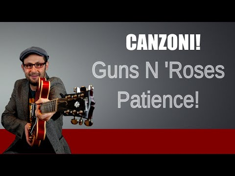 Tutorial chitarra: Guns n' Roses - Patience