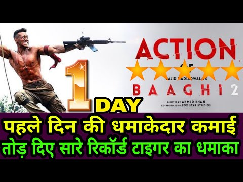 Baaghi 2 Box Office First Day Collection,Star Cast, Budget, Tiger Shroff First Day Record Broken