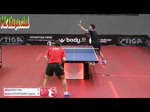 Table Tennis Challenger Series 2018 - Vitor Ishiy Vs Chtchetinie Evgueni -