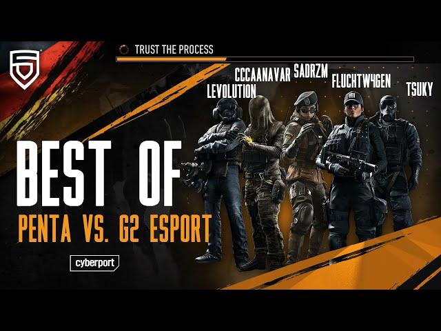 Best of GSA League 2021   PENTA vs. G2 eSport   Rainbow Six Siege   #ThisisPENTA