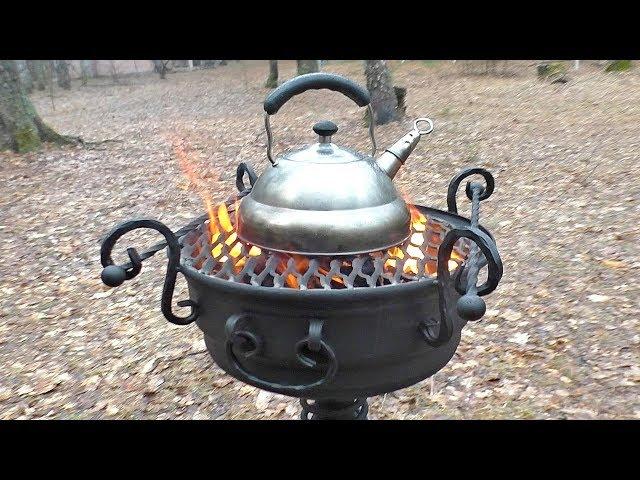 СУПЕР МАНГАЛ ИЗ АВТОМОБИЛЬНОГО ДИСКА | СВОИМИ РУКАМИ | Amazing Barbecue Wheel Grill Diy!!!
