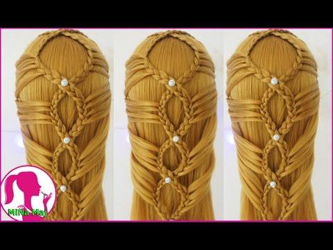 Hairstyles - Hướng Dẫn Cách Tết Tóc Đẹp Và Đơn Giản Đón Năm Mới 2017