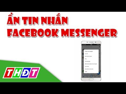 Ẩn tin nhắn trong Facebook Messenger | THDT