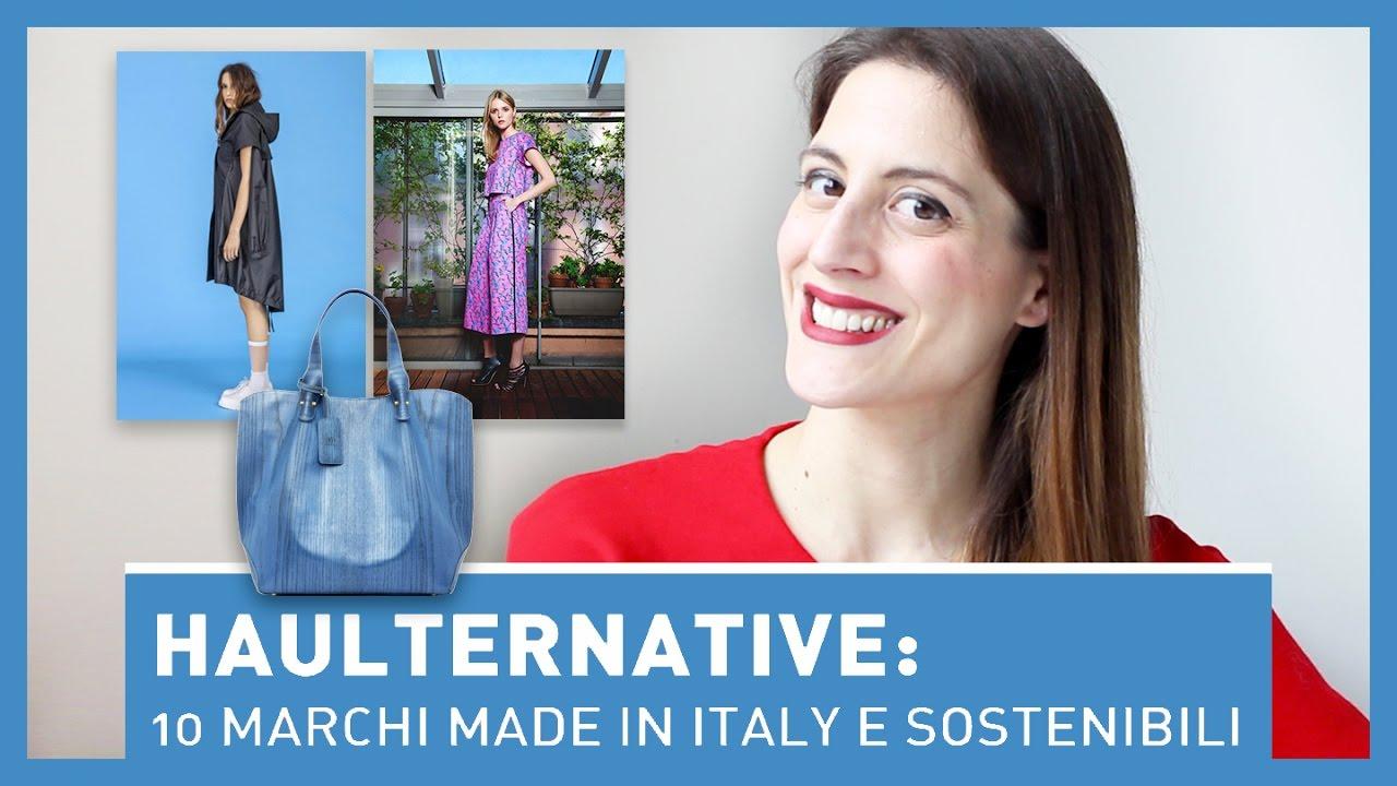 fcd0b937d3c26 HAULTERNATIVE  10 MARCHI MADE IN ITALY - Moda sostenibile - YouTube