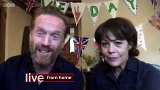 Damian Lewis And Helen McCrory On The One Show