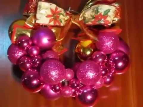 Corona de navidad como hacer una corona de navidad youtube - Como hacer coronas de navidad ...