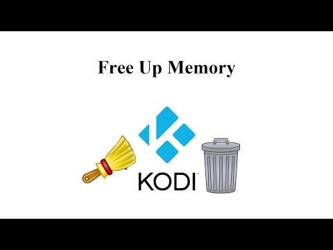 How to Free Up Memory on Kodi (New Source in Description)