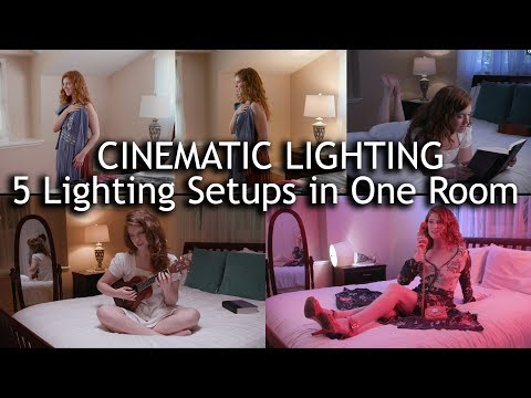 Cinematic Lighting: 5 Lighting Setups in 1 Room with Intellytech LiteCloth