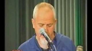 I Grieve - Peter Gabriel live on Larry King 2002