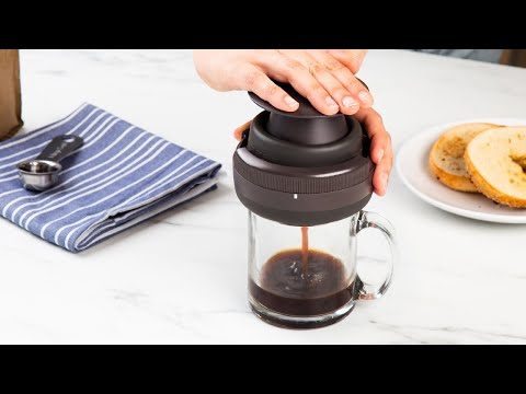 Palmpress | Reusable Personal Coffee Press