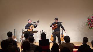 Opera Elisabetta [Il Barbiere di Siviglia] Rossini - arr.Giuliani/19c Guitar duo セビリアの理髪師序