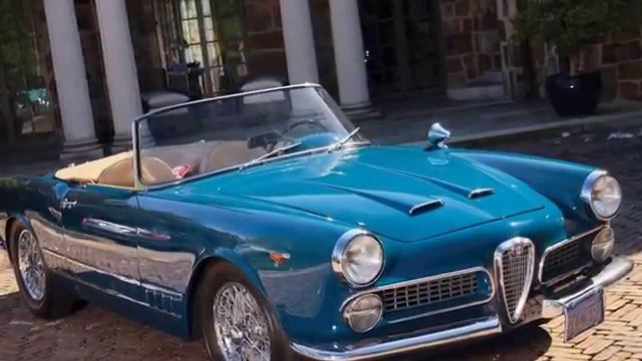 1962 alfa romeo 2000 spidertouring - youtube