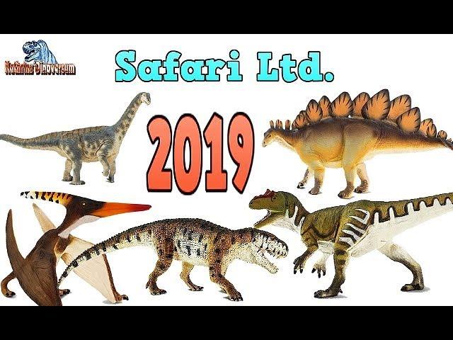 SAFARI LTD. 2019 - Urzeit-Highlights für groß und klein / Was erwartet uns im kommenden Jahr?