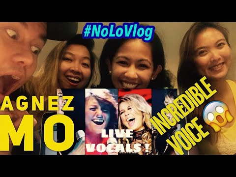 AGNEZ MO BEST LIVE VOCALS | JAKARTA FILIPINO TEACHERS REACT | Live Reaksi | NoLo Vlog