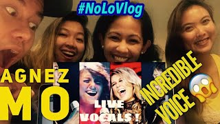 AGNEZ MO BEST LIVE VOCALS | JAKARTA FILIPINO TEACHERS REACT | Live Reaksi | NoLo Vlog