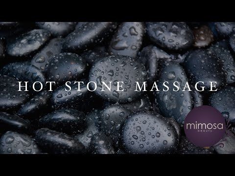 How a Hot stone massage really works!
