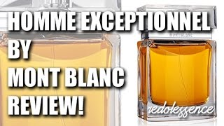 Homme Exceptionnel by Mont Blanc Fragrance / Cologne Review