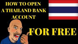 HOW TO OPEN A THAI BANK ACCOUNT V473
