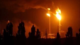 Brand bij Esso (exxonmobil) raffinaderij Botlek, Grip 1 industriebrand , 21 augustus 2017