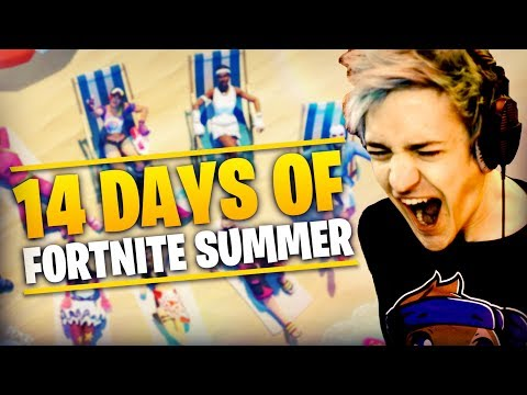 14 Days Of Summer Fortnite!