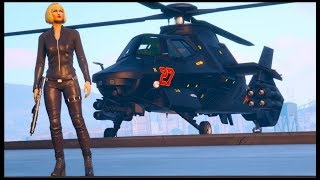 "GTA 5 Online - NEW ""AKULA"" Helicopter  DLC GAMEPLAY & CUSTOMIZATION! (GTA 5 ONLINE DOOMSDAY HEIST)"