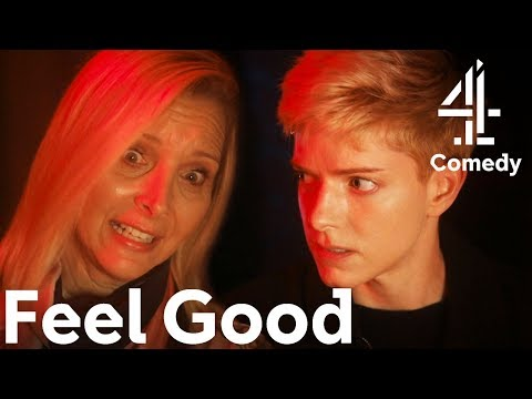 Taking Your Parents On The Ghost Train | Mae Martin & Lisa Kudrow Comedy | Feel Good