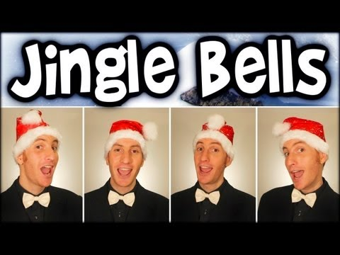 Jingle Bells - A Cappella Christmas Barbershop Quartet