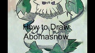 How to Draw Abomasnow