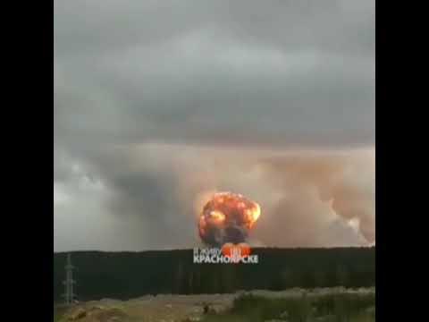 Читай текст и см.по ссылкам под видео! 08.08.19 Атомный взрыв под Северодвинском! Что это было?