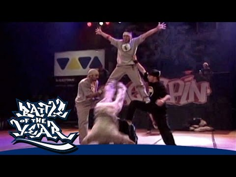 BOTY 2003 - THE DYNAMICS (BELGIUM) - SHOWCASE [OFFICIAL HD VERSION BOTY TV]