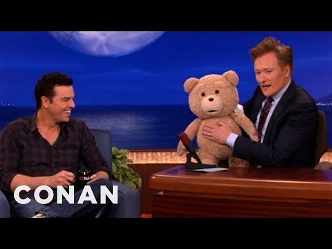 "Seth MacFarlane's ""Ted"" R-Rated Teddy Bear Malfunctions - CONAN on TBS"