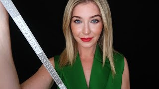 ASMR Tingly Ear To Ear Russian Suit Fitting 📏