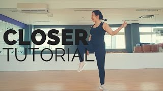 Closer, Chainsmokers Dance Tutorial - Flair Choreography ✔