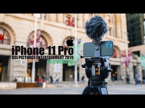 Apple IPhone 11 Pro Cinematic 4K Video Test