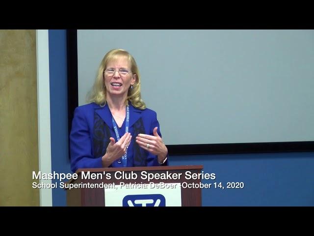 Mens Club Speaker Series featuring Patricia DeBoer 10 14 20