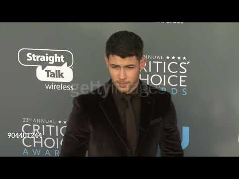 Nick Jonas 2018 23rd annual Critics Choice Awards